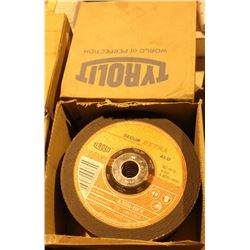 "4 BOXES OF TYROLIT 8"" GRINDER DISCS"