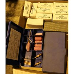 FLAT OF ASSORTED WELDING TIPS AND ACCESSORIES