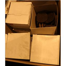 BOX OF ASSORTED 3M BUFFING WHEELS