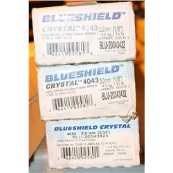 3 BOXES OF AIR LIQUIDE WELDING WIRE, CRYSTAL 4043