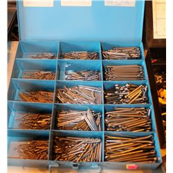 METAL CASE OF MULTIPLE SIZED PINS