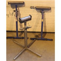 LOT OF 3 ROLLER STANDS