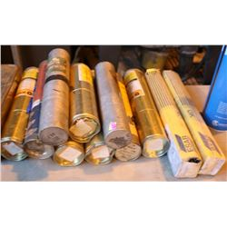 LARGE LOT OF ASSORTED WELDING ROD