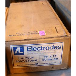 AIR LIQUIDE 1/8 X 14 WELDING RODS