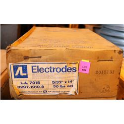 AIR LIQUIDE 5/32 X 14 WELDING RODS