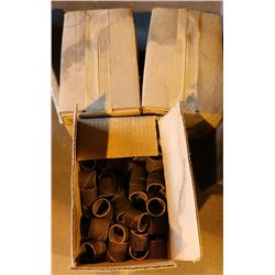 3 BOXES OF 1-1/4 X 1-1/4 BELT SANDING BELTS
