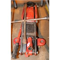 HYDRAULIC JACK WITH TIRE WRENCH