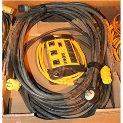 RONA POWER BAR WITH A 240AMP EXTENSION CORD