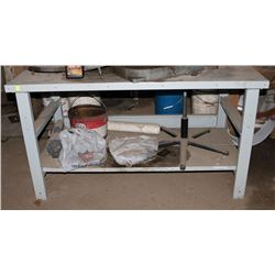 """30"""" X 60"""" STEEL TABLE (TABLE ONLY)"""