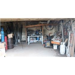 LARGE SHED CONTENTS