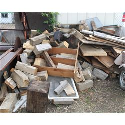 LOT OF MISC WOOD