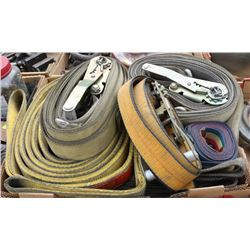 FLAT OF ASSORTED STRAPS
