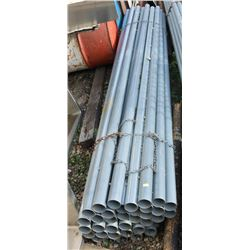 "35 LENGTHS OF 2"" X 10FT GALVANIZED PIPE"