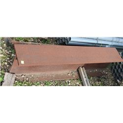 "4FT PIECE OF 3/4"" I-BEAM"