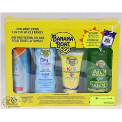 BANANA BOAT SUN PROTECTION FOR THE WHOLE