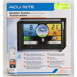ACU-RITE WEATHER STATION WITH COLOUR DISPLAY