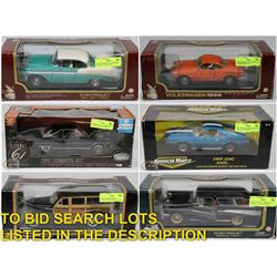 FEATURED LOTS: DIE CAST CARS