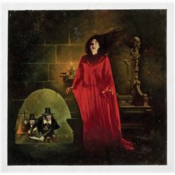 Sanjulián original cover painting for Vampirella #109.