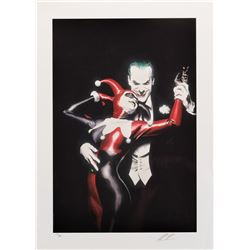 """Alex Ross """"Tango with Evil"""" limited edition art print."""