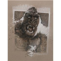 Drew Struzan King Kong print.