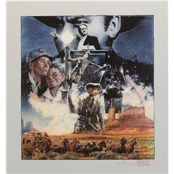"Drew Struzan signed ""Americas Movies"" American Film Institute tribute Artist's Proof limited print."