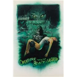 Drew Struzan signed (2) Creature from the Black Lagoon limited edition art prints, including Proof.