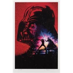 Drew Struzan signed Revenge of the Jedi Artist's Proof limited edition art print.