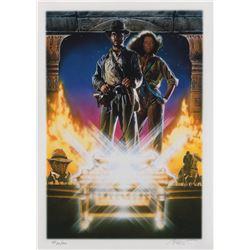 Drew Struzan signed Raiders of the Lost Ark Artist's Proof limited edition art print.