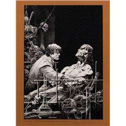 Bernie Wrightson Frankenstein limited edition art print.