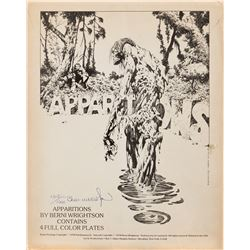 Bernie Wrightson Apparitions portfolio and Steven King's The Stand portfolio.