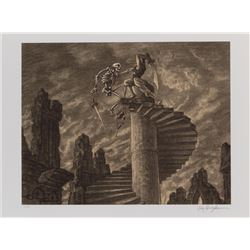 Ray Harryhausen signed Every Picture Tells a Story portfolio.