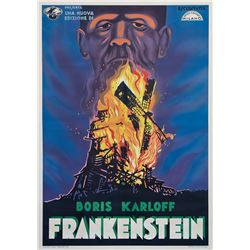Frankenstein Italian 4-fogli poster.