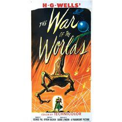 War of the Worlds 3-sheet poster.