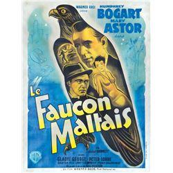 The Maltese Falcon French grande poster.