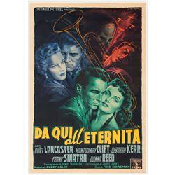 From Here to Eternity Italian 8-fogli poster.