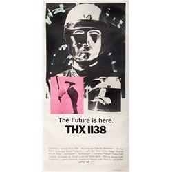 THX-1138 3-sheet poster.