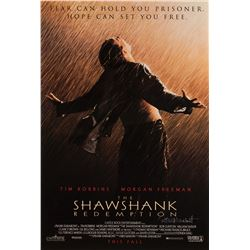 The Shawshank Redemption 1-sheet poster signed by Frank Darabont.