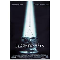 Mary Shelley's Frankenstein bus shelter poster signed by Frank Darabont.