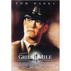 The Green Mile bus shelter poster signed by Frank Darabont.