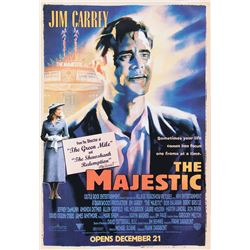 The Majestic bus shelter poster signed by Frank Darabont.