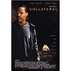 Collateral bus shelter poster signed by Frank Darabont.