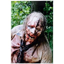 """The Walking Dead oversize photograph of Greg Nicotero as a """"Deer Eater"""" zombie."""