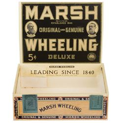 """""""Mr. Jingles"""" prop cigar box from The Green Mile."""