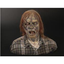 """The Walking Dead """"patient zero"""" zombie bust by Greg Nictoero."""
