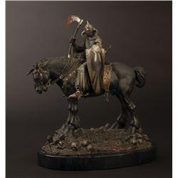 "Randy Bowen limited edition bronze of Frank Frazetta's ""Death Dealer""."