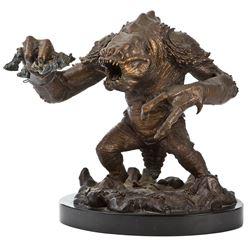 "Randy Bowen Artist's Proof bronze of the ""Rancor Monster"" from Star Wars: Episode VI."