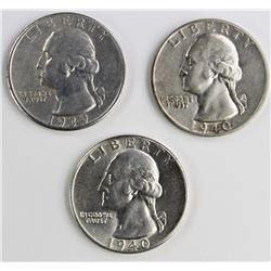 3- WASHINGTON QUARTERS