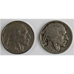 1914 & 1914-S BUFFALO NICKELS