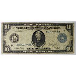 1914 $10 FRN NOTE