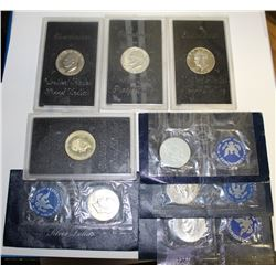 LOTS OF SILVER IKE DOLLARS:
